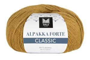 Bilde av Alpakka Forte Classic 507 Maisgul melert Dale garn