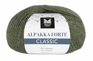 Bilde av Alpakka Forte Classic 511 Oliven melert Dale garn