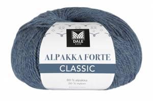 Bilde av Alpakka Forte Classic 513 Denim melert Dale garn