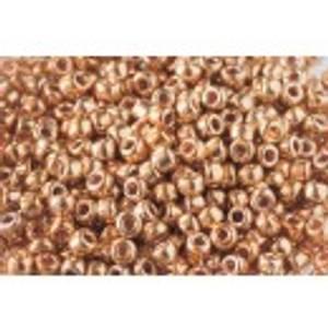 Bilde av Perler 562 Metallic Gold, size 8