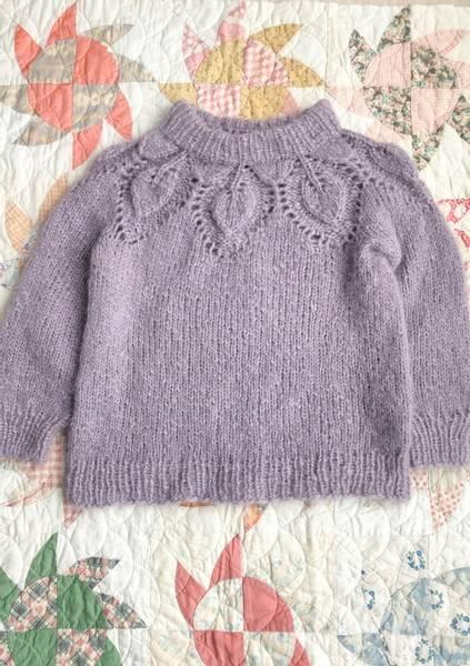 Le Knit Chunky Dahlia Mini oppskrift*