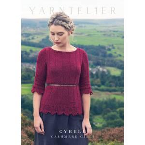 Bilde av Yarntelier Cybele sweater Cashmere Gilli