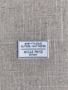 Bilde av Baby It's Cold Outside - Knit Faster label Mille Fryd