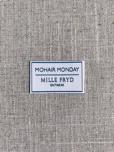 Bilde av Mohair Monday label Mille Fryd