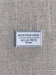 Bilde av Rock Your Wool label Mille Fryd