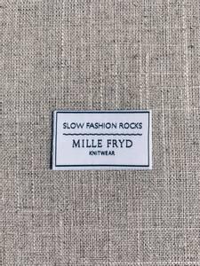 Bilde av Slow Fashion Rocks label Mille Fryd