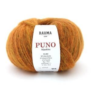 Bilde av Rauma Puno 22743 Melange oransje garn