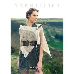 Bilde av Yarntelier Osprey shawl Cashmere Lace