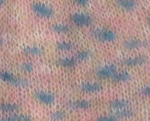 Bilde av Permin Bella Color 160 Rosa/Retro flerfarget garn