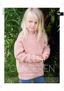 Bilde av Kbs5 Hjertegenser barn oppskrift Sandnes garn*