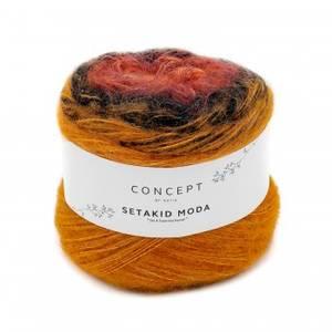 Bilde av Setakid Moda 306 Orange Katia garn