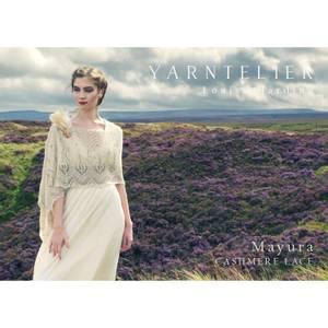 Bilde av Yarntelier Mayura shawl Cashmere Lace
