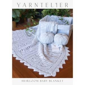 Bilde av Yarntelier Heirloom baby blanket Cashmere Lace