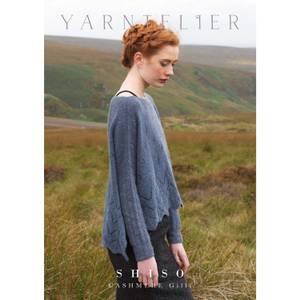 Bilde av Yarntelier Shiso Pocho sweater Cashmere Gilli
