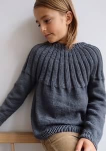 Bilde av Harald Sweater Junior PetiteKnit oppskrift *