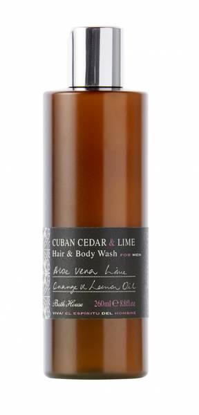 Bilde av CUBAN CEDAR & LIME Body Wash 260ml