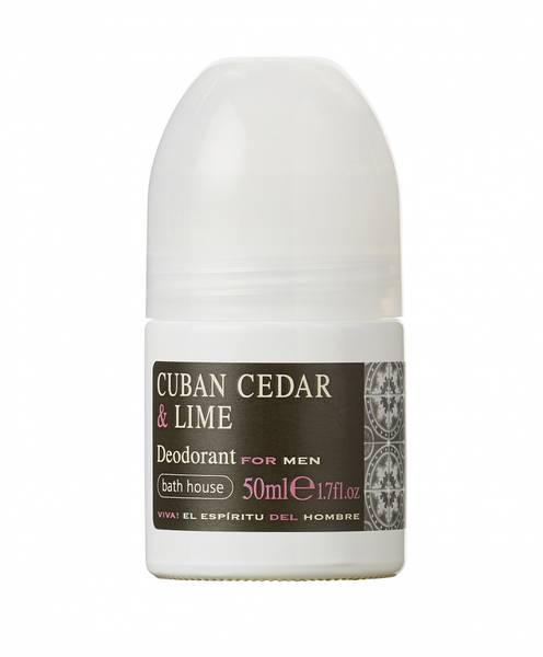 Bilde av CUBAN CEDAR & LIME Deodorant 50ml (MENN)