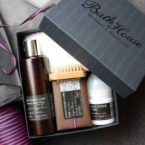 Bilde av CUBAN CEDAR & LIME Shower Gift Box