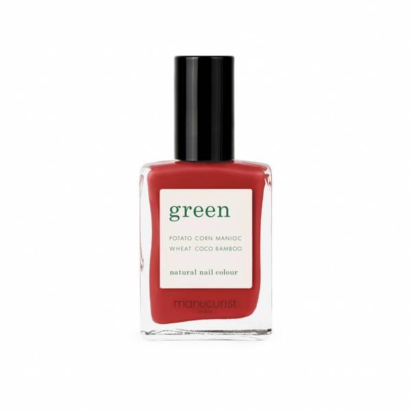 Bilde av Poppy Red | Neglelakk | Green by Manucurist