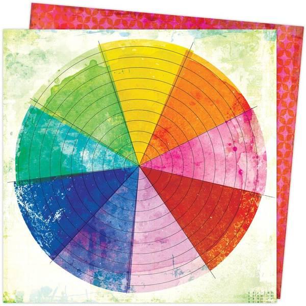 Bilde av Mønsterark; Color Wheel
