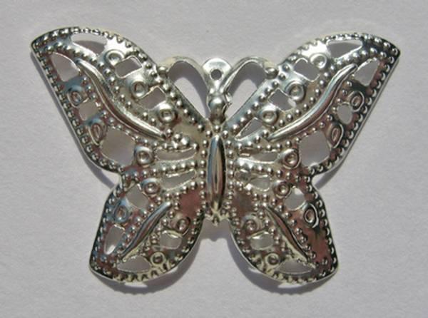 Bilde av K&G; sommerfugl sølv