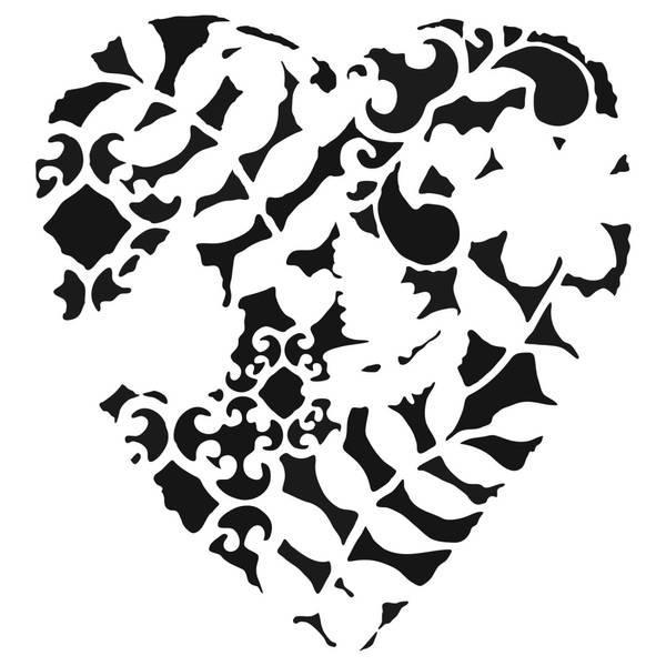 Bilde av TCW; Heart Fern 12x12