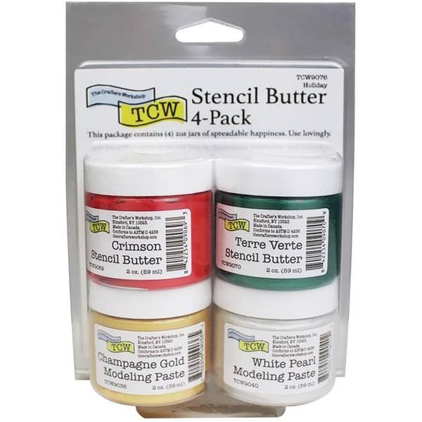 Bilde av Stencil Butter; Holiday