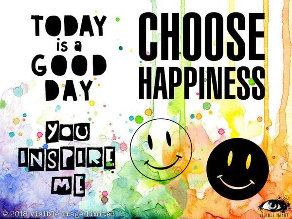 Bilde av Choose Happiness
