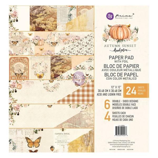Bilde av 12×12 Paper pad Autumn