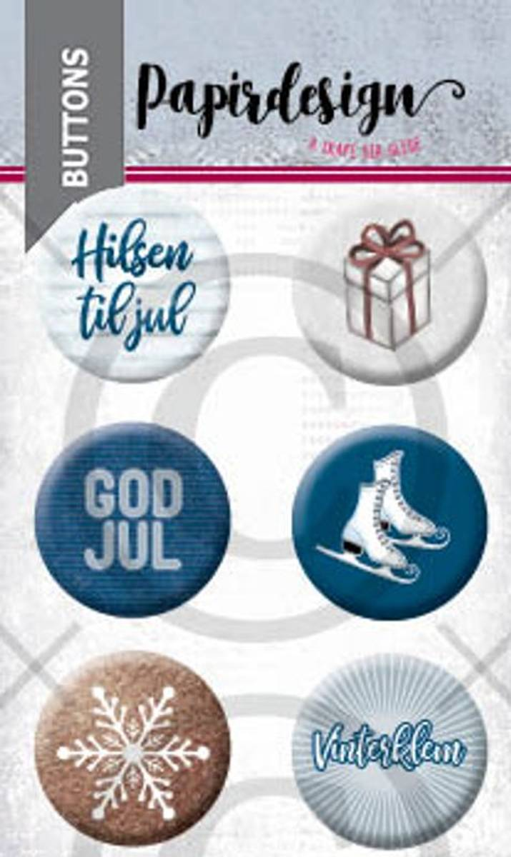 Buttons: God jul 5