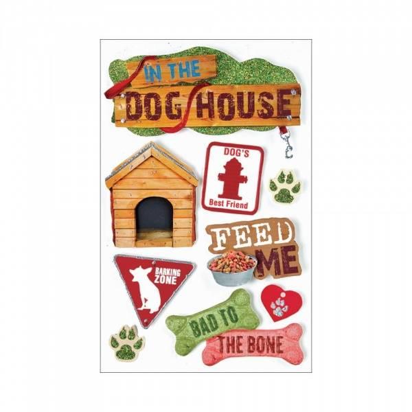 Bilde av Paper House; Dog  3-D