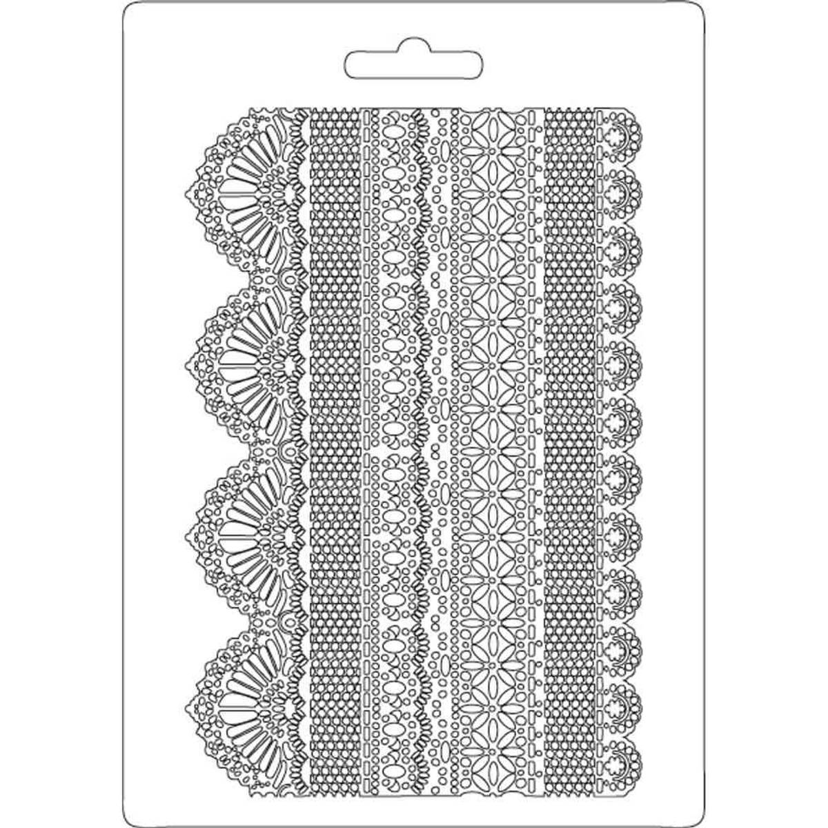 Stamperia Soft Mould A5 Laces