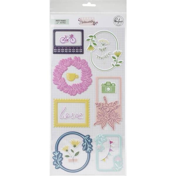 Bilde av Puffy Frames Stickers