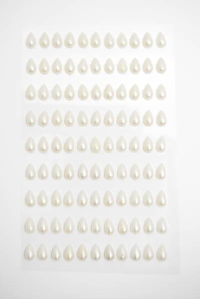 Bilde av stickers perle dråpe