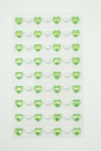 Bilde av Stickers hjerte lime