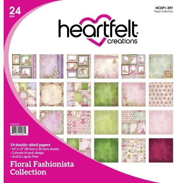 Bilde av 12x12 blokk; Floral