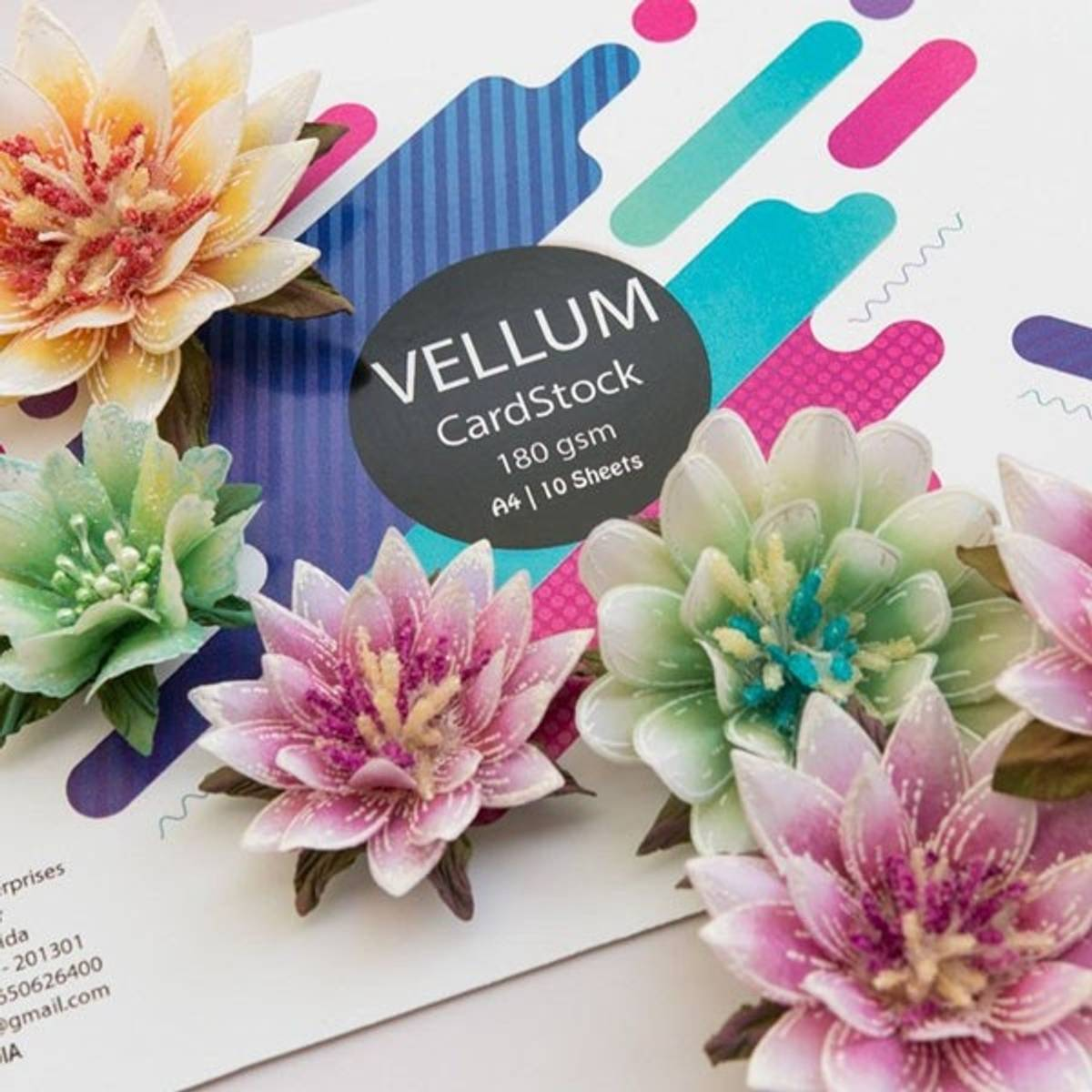 Rajni Chawla's Vellum Flowerite