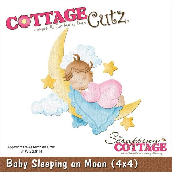 Bilde av Baby Sleeping On Moon