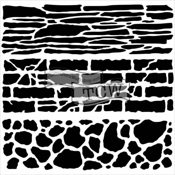 Bilde av TCW; Rock Wall 12x12