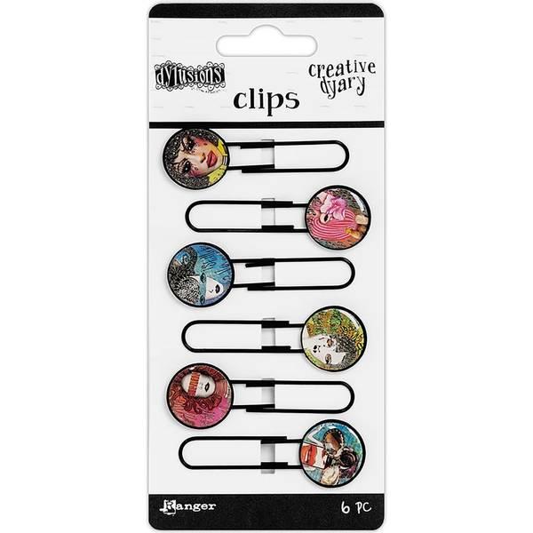 Bilde av Creative Dyary Clips Set