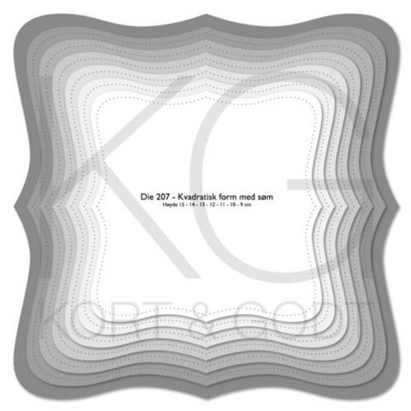 Bilde av Die 207 Kvadratisk form
