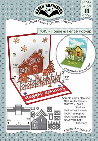 Bilde av House & fence pop-up