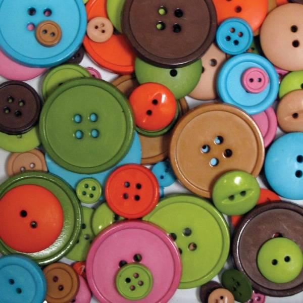 Bilde av Big Bag of Buttons;