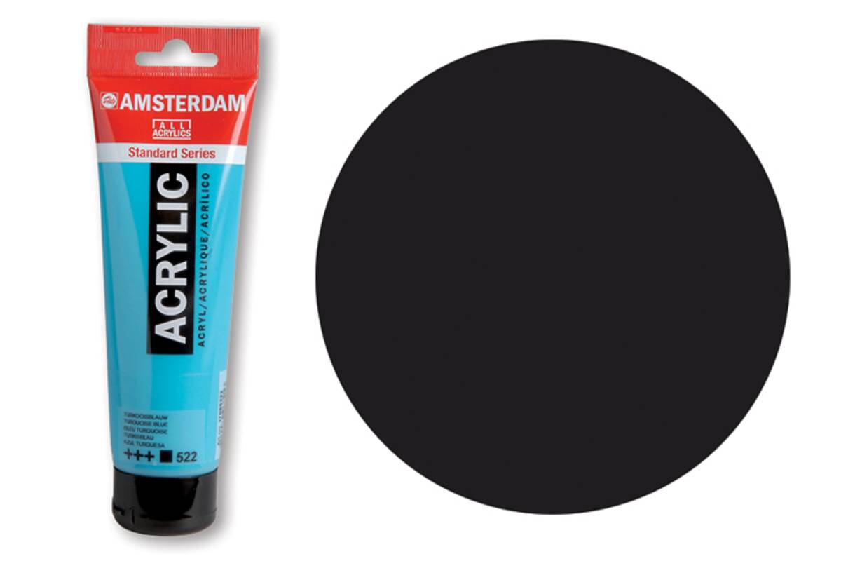 Amsterdam; Lamp black 7020 120ml