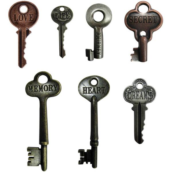 Bilde av Metal Word Keys