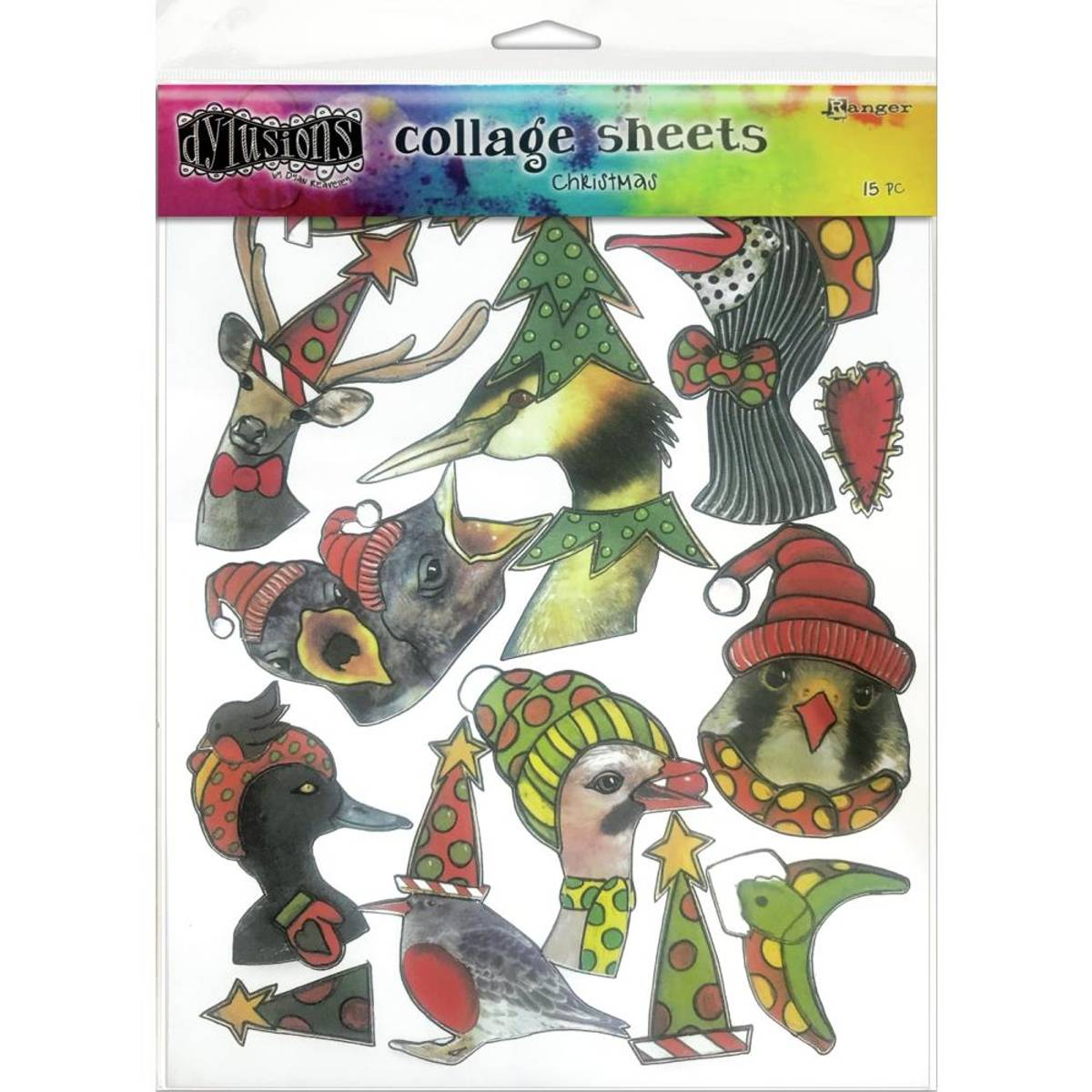 Collage Sheets Christmas