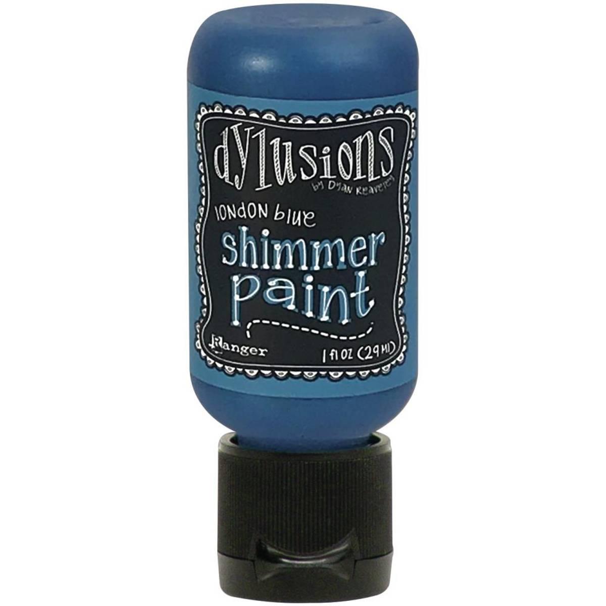 Shimmer Paint 1oz; London Blue