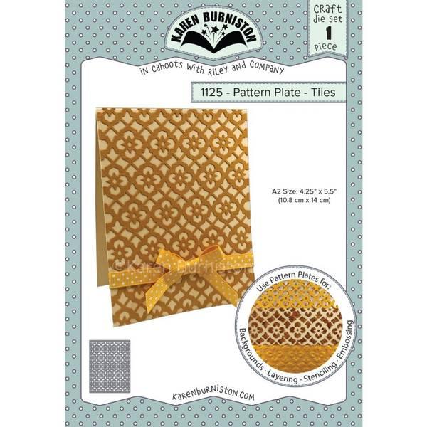 Bilde av Pattern Plate - Tiles