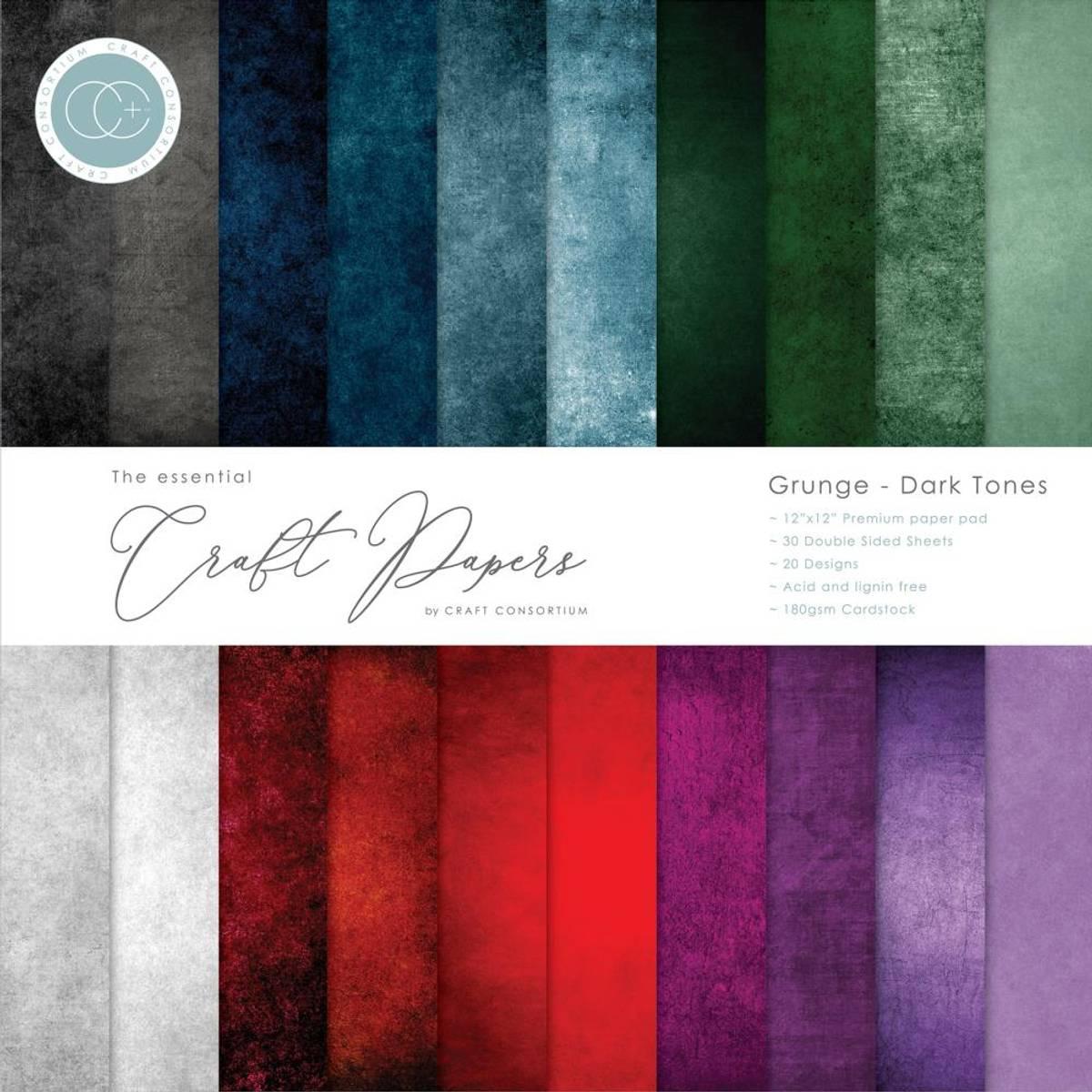 Craft Consortium Grunge-Dark Tones