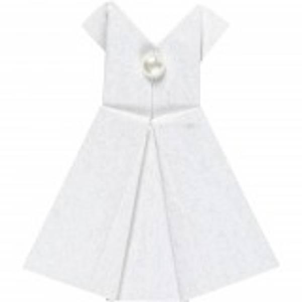 Bilde av CC; Hvit kjole